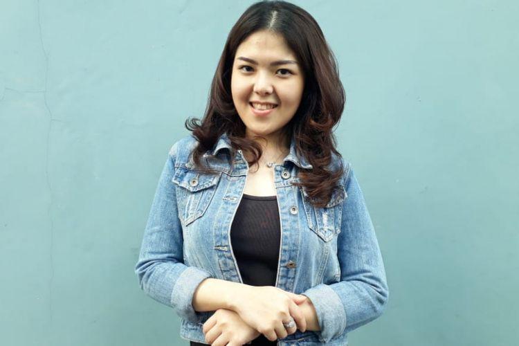 Tina Toonita saat ditemui di kawasan Tendean, Jakarta Selatan, Kamis (19/7/2018).