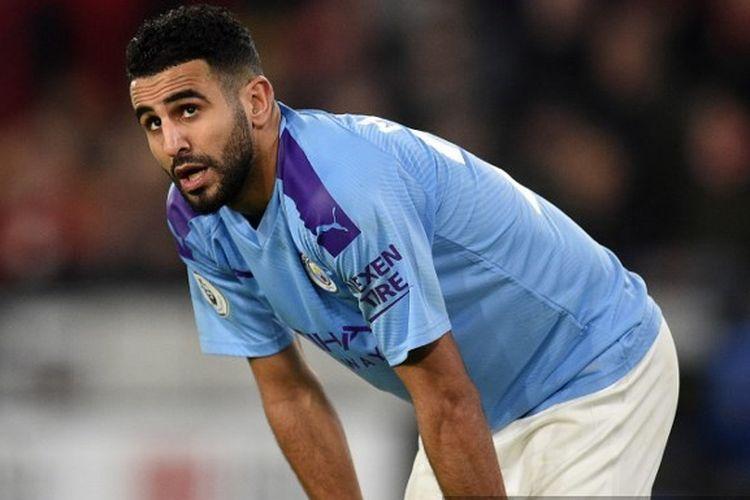 Winger Manchester City Riyad Mahrez.