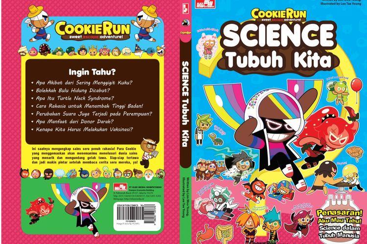 Komik Pendidikan COokie Run Science Tubuh Kita