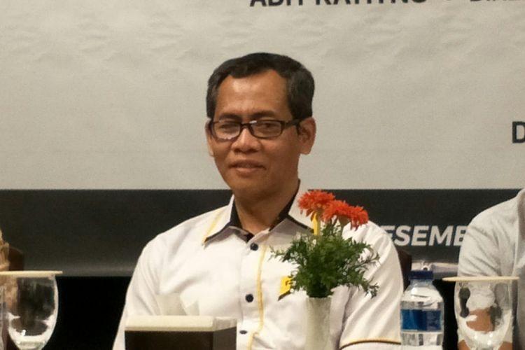 Ketua DPW Partai Keadilan Sejahtera (PKS) DKI Jakarta Bidang Pemenangan Pemilu dan Pilkada Agung Setiarso di kawasan Cikini, Jakarta Pusat, Rabu (12/12/2018).