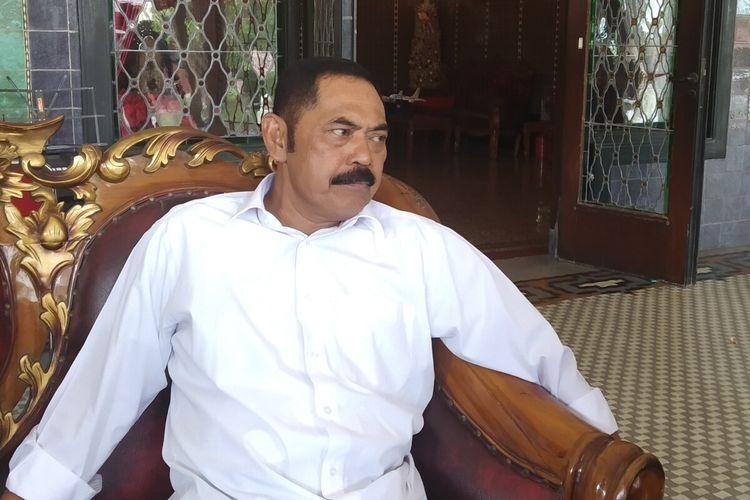 Ketua DPC PDI-P Kota Surakarta yang juga Wali Kota Surakarta, FX Hadi Rudyatmo.