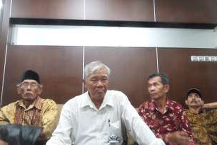 Ketua Yayasan Penelitian Korban Pembunuhan 1965/1966 Untung Bejo.