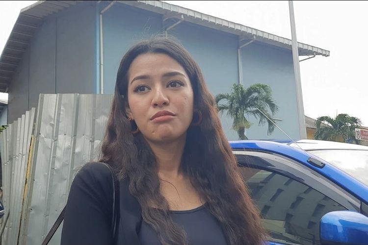 Susan Sameh saat ditemui wartawan di kawasan Tendean, Kamis (7/1/2020)