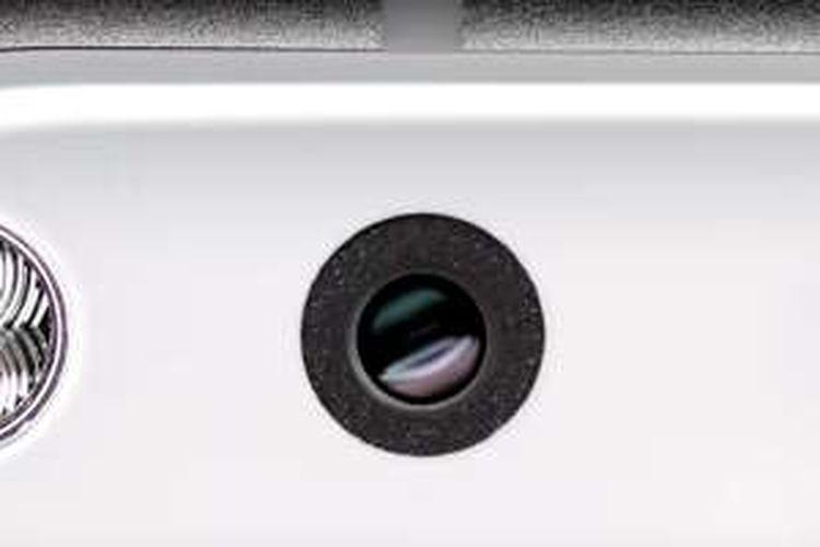 Close-up kamera Google Pixel dari video promosi Google.