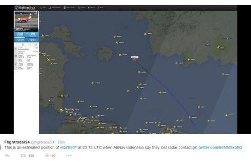 Pesawat Pemantau Australia Lihat