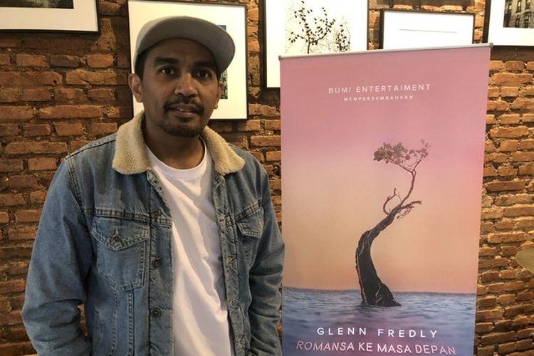 Glenn Fredly saat dijumpai di M Bloc Space, Jakarta Selatan, Rabu (13/11/2019).