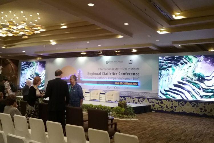 Konferensi statistik internasional di Nusa Dua, Bali, Rabu (22/3/2017)