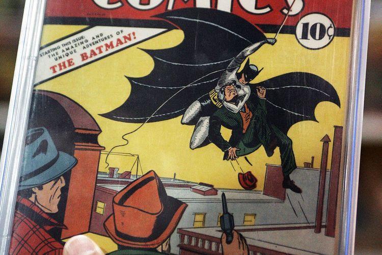 Komik Batman Edisi Pertama