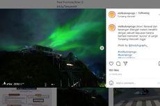 Foto Viral Aurora di Langit Tumpeng Menoreh Yogyakarta, Ini Kata Peneliti Lapan BRIN