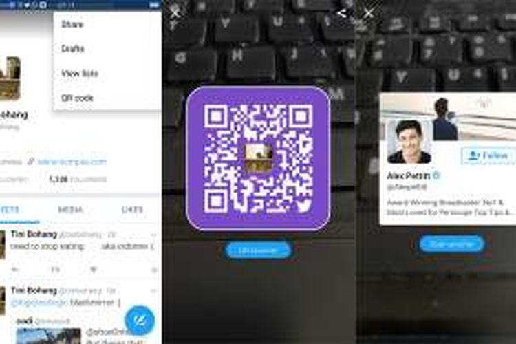 Twitter punya fitur QR Codes mirip Snapchat