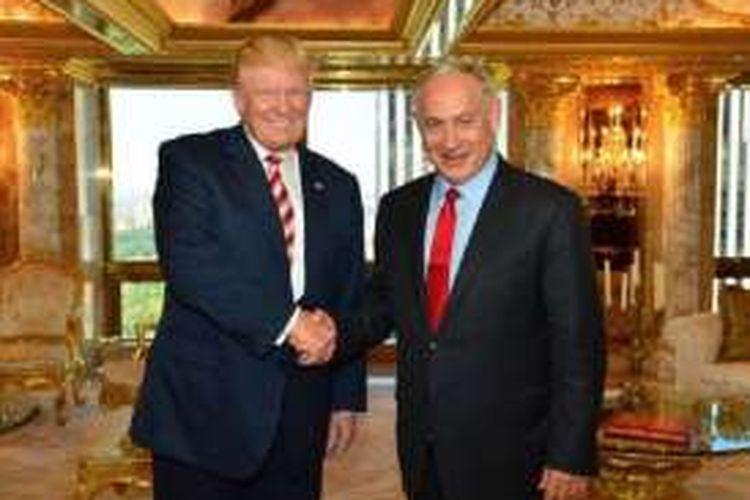 Donald Trump dan Benjamin Netanyahu