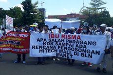 2,5 Jam Demo Menunggu Risma, Paguyuban Pedagang IT Surabaya Kecewa