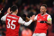 Top Skor Liga Inggris - Aubameyang Samai Pencapaian Vardy