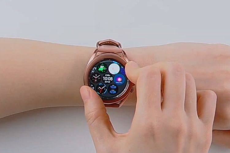 Galaxy Watch3 resmi dirilis.