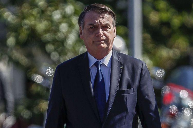 Presiden Brasil Jair Bolsonaro.