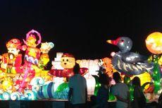 Warna-warni Penutupan Festival Lampion Taiwan 2019