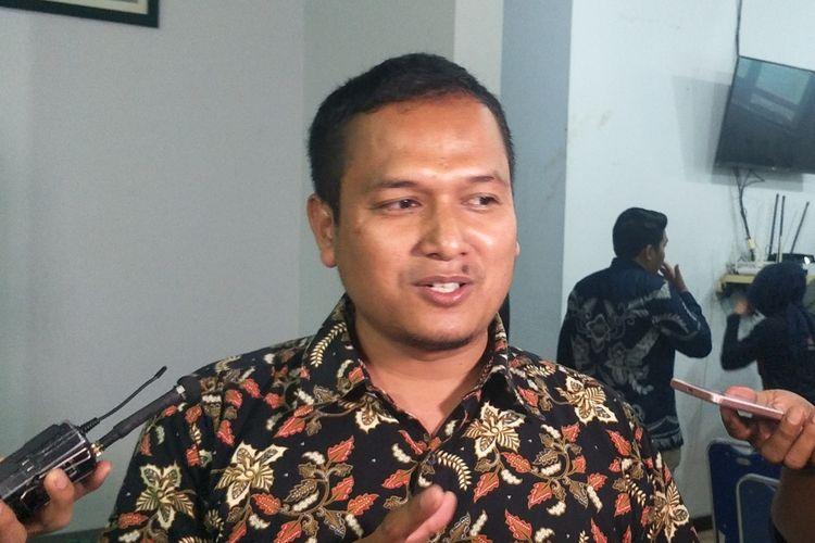 Ketua Departemen Politik Partai Keadilan Sejahtera (PKS) Pipin Sopian saat ditemui seusai menjadi pembicara dalam peluncuran hasil survei Parameter Politik Indonesia, di kawasan Pancoran, Jakarta Selatan, Kamis (17/10/2019).
