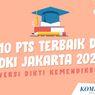 INFOGRAFIK: 10 Universitas Swasta Terbaik di DKI Jakarta 2020
