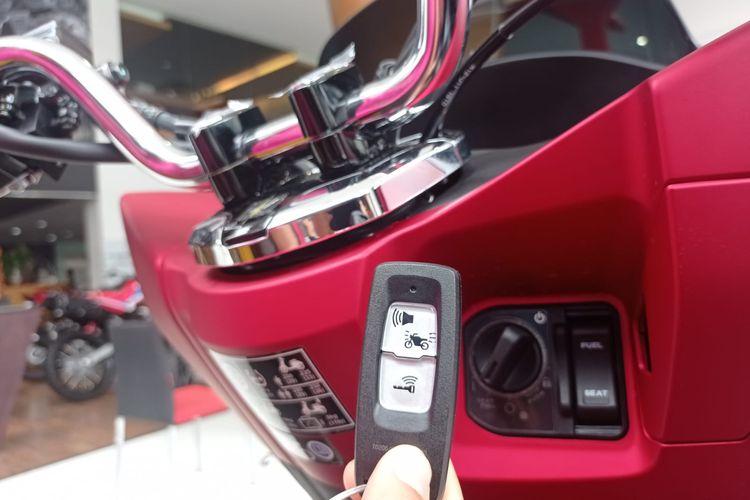 Teknologi keyless pada sepeda motor Honda yang diberi nama Smarr Key System