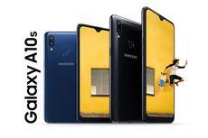 Resmi, Samsung Galaxy A10s Dibekali Baterai 4.000 mAh
