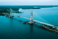 Jembatan Pulau Balang, Ikon Baru Koridor Trans-Kalimantan Akhirnya Tersambung
