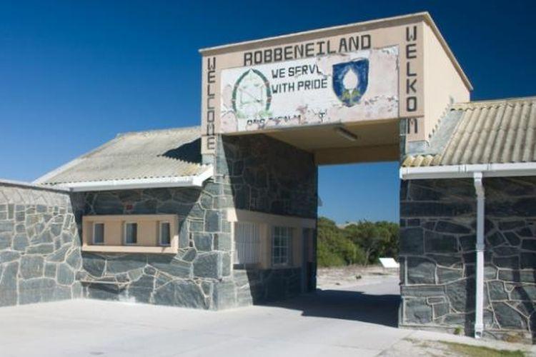 Penjara di Pulau Robben yang pernah menjadi tempat pengasingan Nelson Mandela saat politik apartheid di Afrika Selatan
