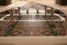 Melihat Shalat Jumat Pertama di Arab Saudi Setelah 2 Bulan Penguncian...