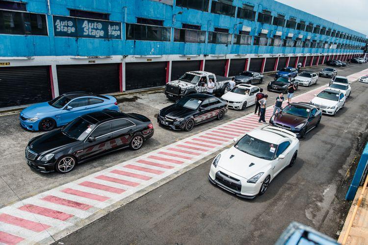 GOCI adakan event safety driving dan balap di Sentul dalam acara BJB x GOCI