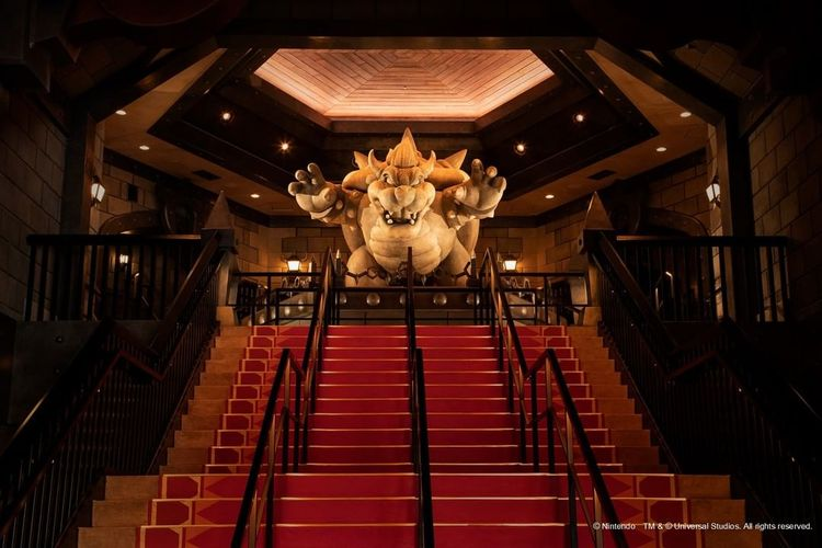 Tempat wisata di Jepang - Super Nintendo World di Universal Studios Japan.