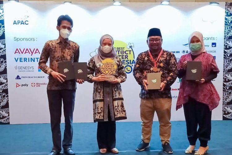 PGN meraih 6 penghargaan dalam ajang The Best Contact Center Indonesia 2020.