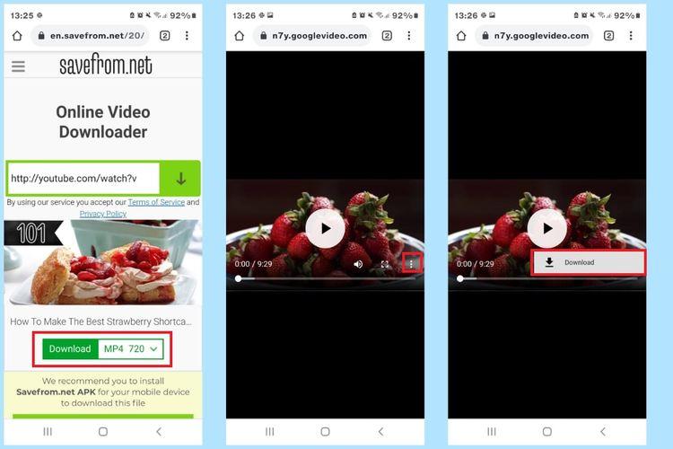 cara upload video dari YouTube ke Status WhatsApp