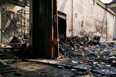Warga Sempat Komunikasi dengan Korban Kebakaran Toko Agen Makanan dan Plastik di Cipayung