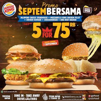 promo september dari burger king indonesia