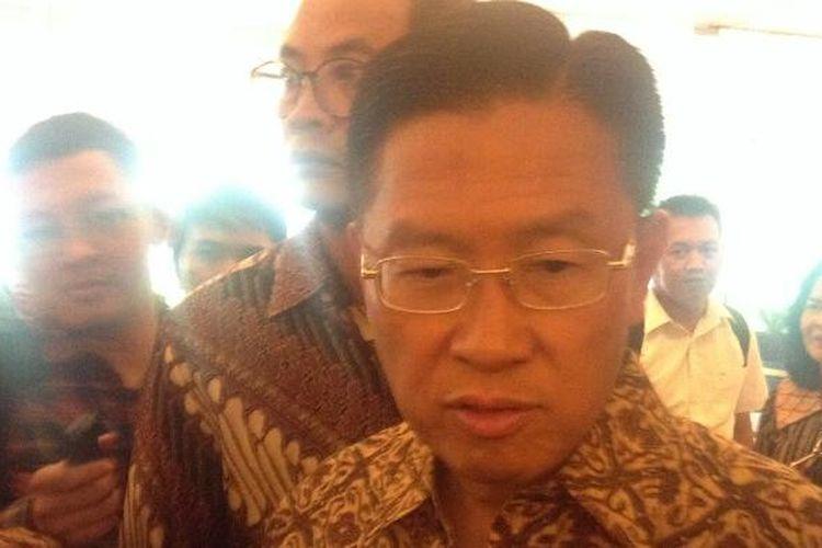 CEO Lippo Group James Riady di Jakarta, Rabu (28/10/2015).