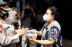 HUT ke-73 Polwan, Polisi Bagikan 1.200 Kotak Makan Siang ke Daerah Kumuh di Jaktim