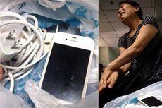 Kesetrum iPhone 4, Pria China Jatuh Koma