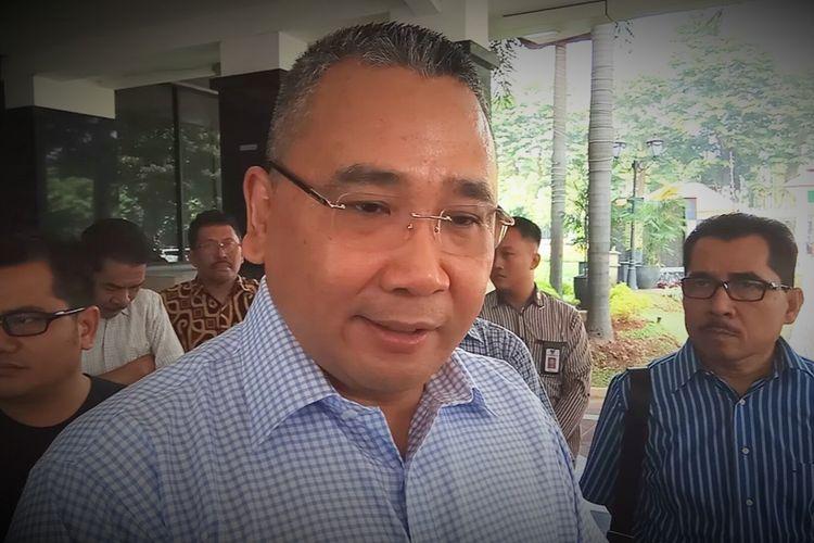 Menteri Desa, Pembangunan Daerah Tertinggal dan Transmigrasi (PDTT), Eko Putro Sandjojo, saat ditemui di kantornya di Kalibata, Jakarta Selatan, Sabtu (27/5/2017).