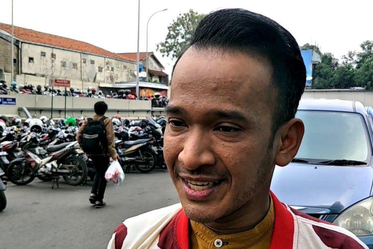 Ruben Onsu saat ditemui di kawasan Tendean,  Jakarta Selatan, Selasa (5/6/2018).