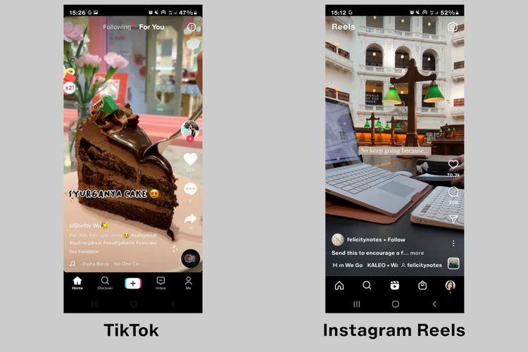 Perbedaan TikTok dan Instagram Reels