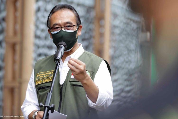 Sekretaris Gugus Tugas Percepatan Penanggulangan COVID-19 Jabar Daud Achmad.