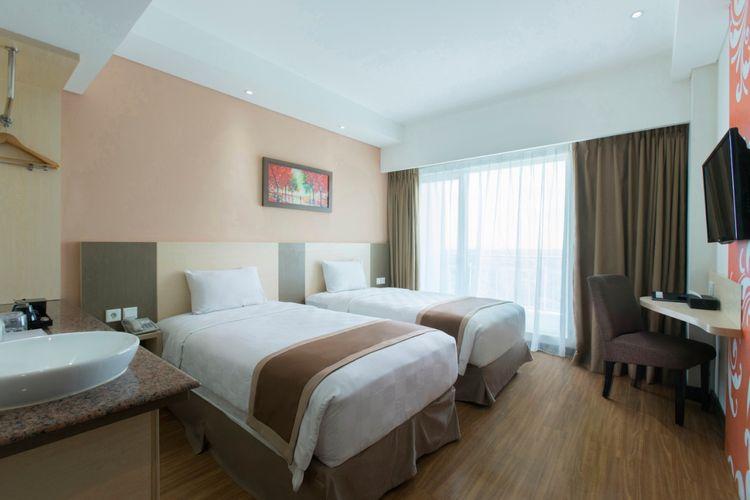 Dalton Hotel Makassar yang dijadikan tempat tinggal tenaga medis tangani virus corona.