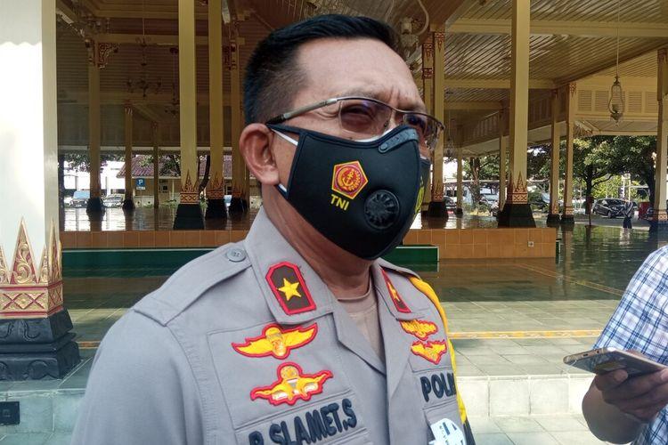 Wakapolda saat ditemui di Kepatihan Kota Yogyakarta, Senin (26/4/2021)