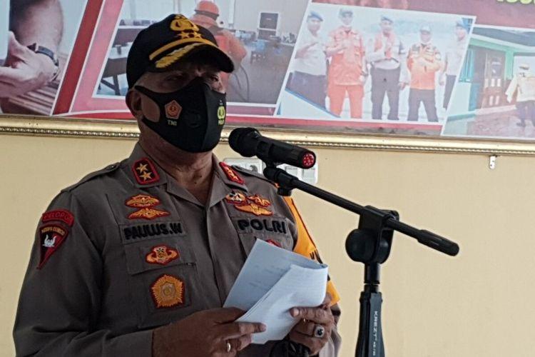 Irjen Paulus Waterpauw saat menjabat Kapolda Papua