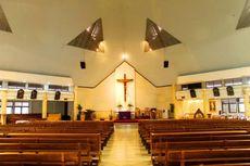 Ini Protokol Ibadah Natal di Gereja Katolik Hati Santa Perawan Maria Tak Bernoda Tangerang