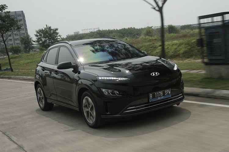 Hyundai Kona Electric 2021. SUV elektrik ini menawarkan pembaruan dibanding model sebelumnya.