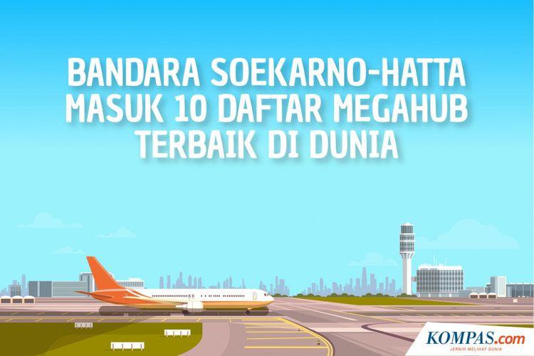 Bandara Soekarno-Hatta Masuk 10 Daftar Megahub Terbaik Di Dunia