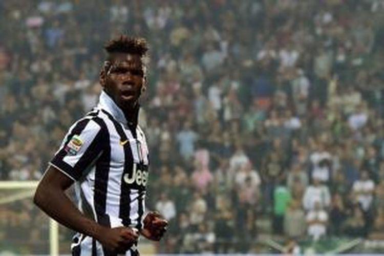 Gelandang Juventus asal Perancis, Paul Pogba.