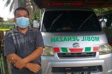 Cerita Sopir Ambulans Antar Jenazah Pasien Covid-19, Hendri: Pakai Hazmat, Takut Tetap Ada