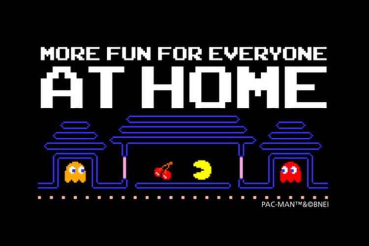 Ilustrasi game Pac-Man Championship Edition 2 gratis