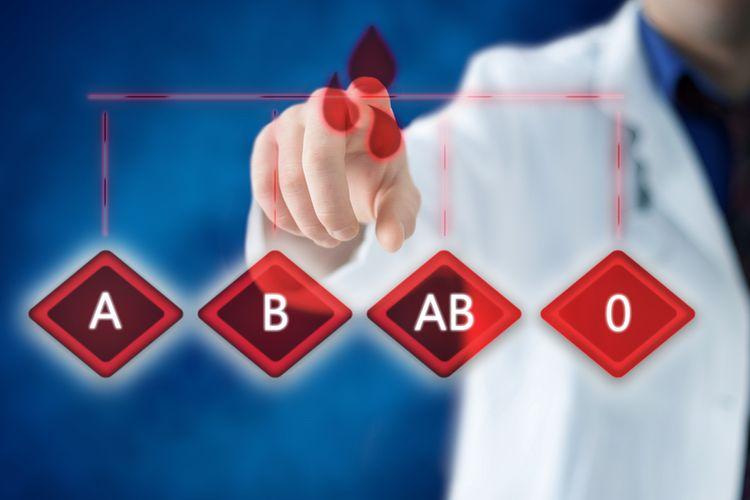 Ilustrasi golongan darah
